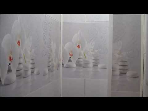 Ремонт Туалета панелями ПВХ за два дня .Ремонт для Бабули). Панели с 3 D