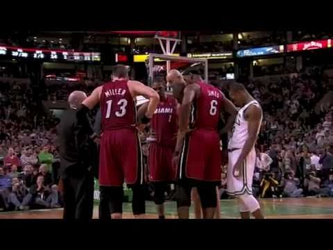 Funny: Rajon Rondo Walks Into Miami Heat Huddle