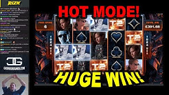 Terminator 2 Slot: HOT MODE!! HUGE WIN! - £2.70 Bet