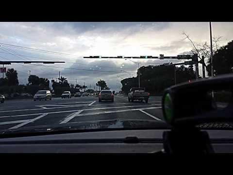 Raining Day in HomeStead Florida