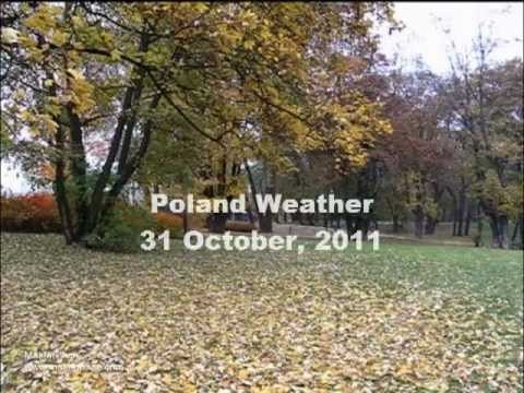 Poland Weather 31 October, 2011 - Current Polish Weather Conditions plus Weather Forecast