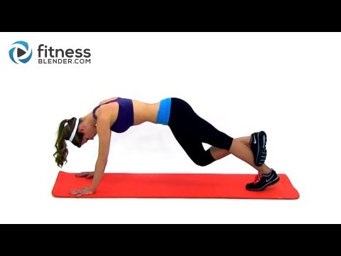 Easy Toning and Flexibility Routine - Fitness Blender Cool Down Workout
