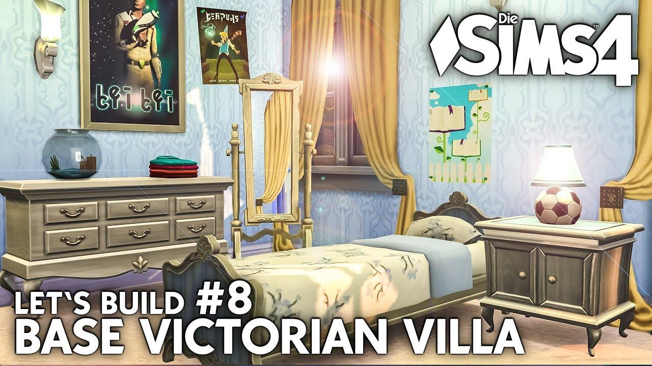 Die Sims 4 Haus Bauen Ohne Packs Base Victorian Villa 8