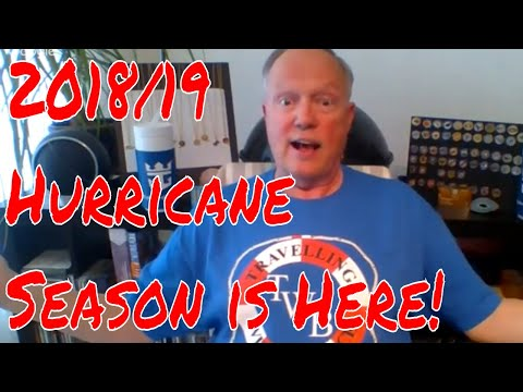5pm et Bruce is Live!  2018/19 Caribbean Hurricane Season About to Begin! How Are The Ports?