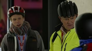 Arriving in tandem - W1A: Series 2 episode 4 Preview - BBC Two