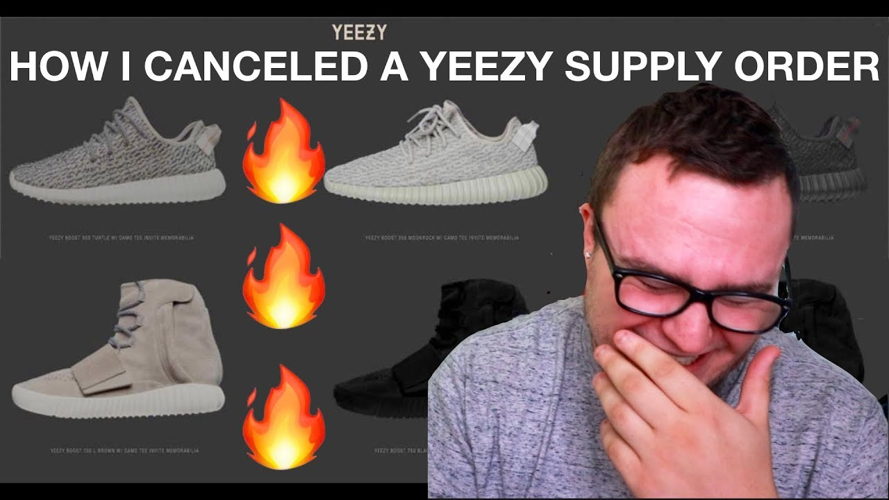 1e3b1bbef HOW I CANCELED MY ORDER FROM YEEZY SUPPLY - YouTube