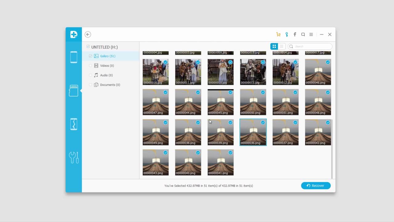 Fonedog - Andorid SD Card Data Recovery