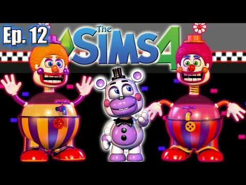 New CLOWN Children!! | The Sims 4: Freddy Fazbear's Pizzeria Simulator - Ep 12
