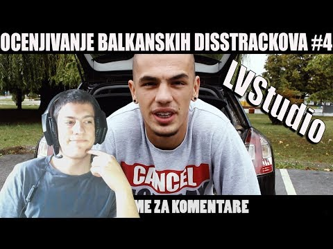 OCENJIVANJE BALKANSKIH DISSTRACKOVA - LVStudio - DISS TRACK NA SVE JUTUBERE ( Official Music Video )