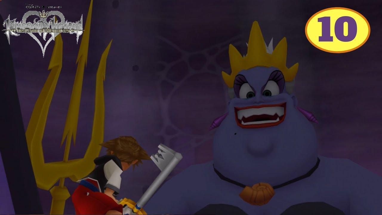 Kingdom Hearts Chain of Memories Part 10 Atlantica Boss Fight - YouTube