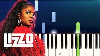Lizzo Piano Tutorials 4 SONGS! Truth Hurts, Good As Hell, Water Me, Juice)