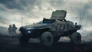 Самые крутые военные автомобили