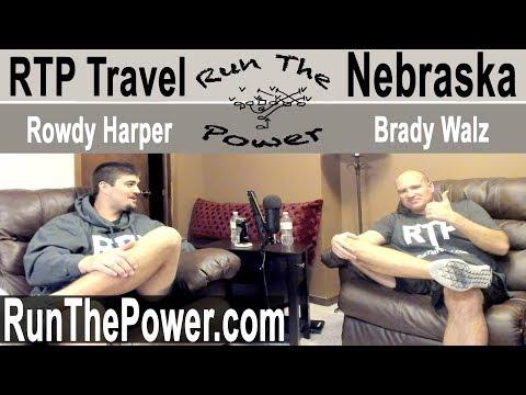 Coach Walz's Visit to Nebraska : Run The Power Travel