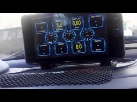 видео: Бортовой компьютер своими руками - mercedes benz a class