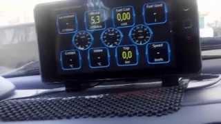 Бортовой компьютер своими руками - Mercedes Benz A class