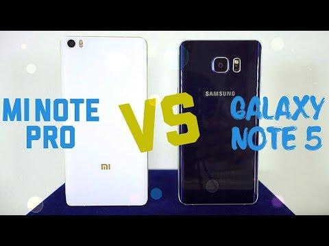 Samsung Galaxy Note 5 Vs Xiaomi Mi Note Pro