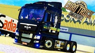 euro truck simulator 2 review caminho da man com vrios opcionais v1 25 g27