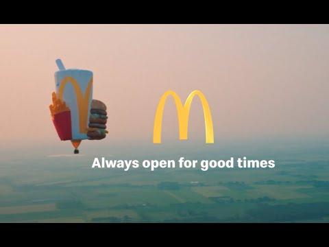 Deze zomer hangen good times in de lucht  McDonalds