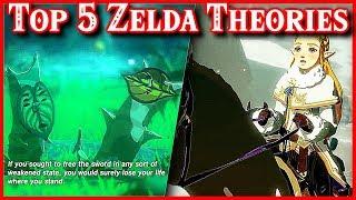 Top 5 Zelda Theory | Breath of the Wild 2, New Kokiri Origins & Tetra Force