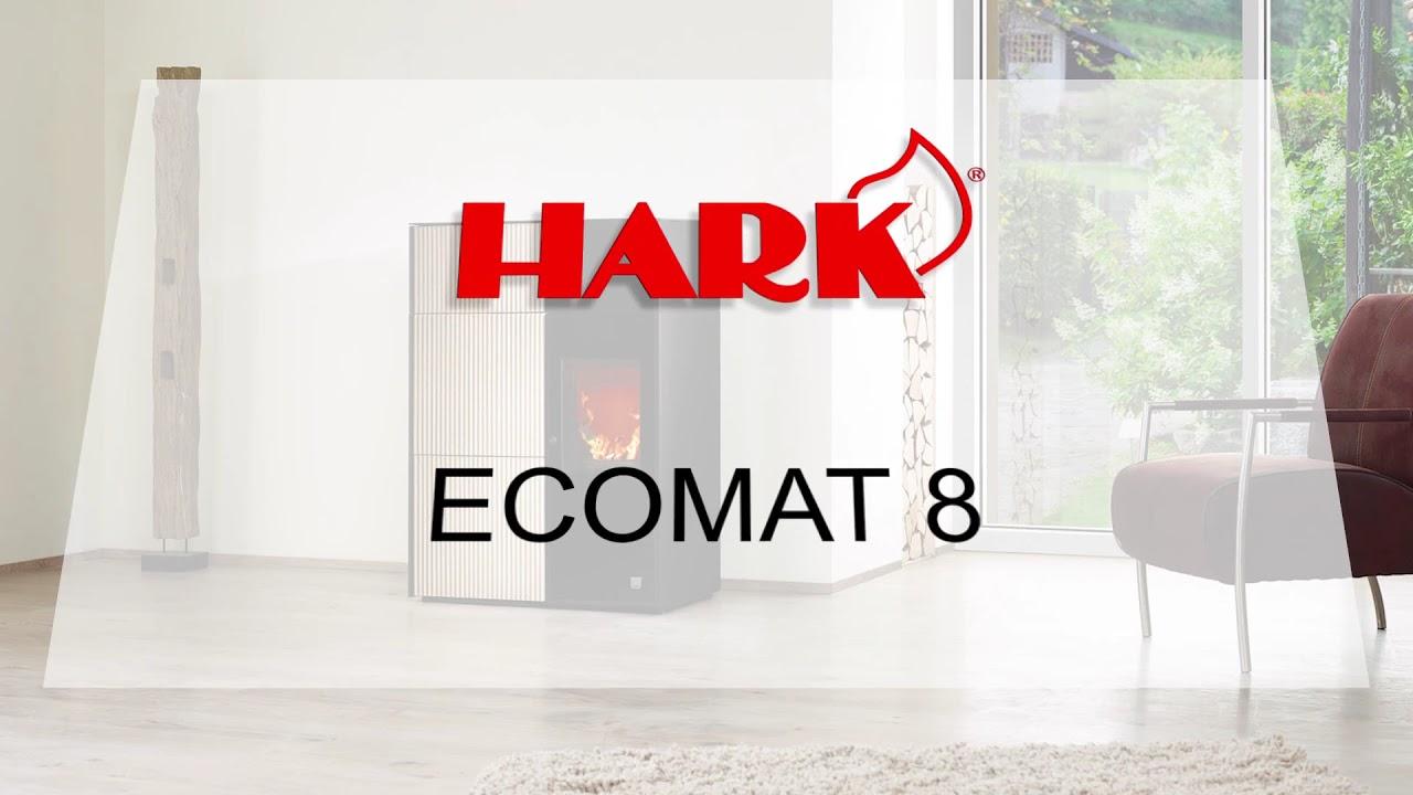 pelletofen ecomat 8 youtube. Black Bedroom Furniture Sets. Home Design Ideas