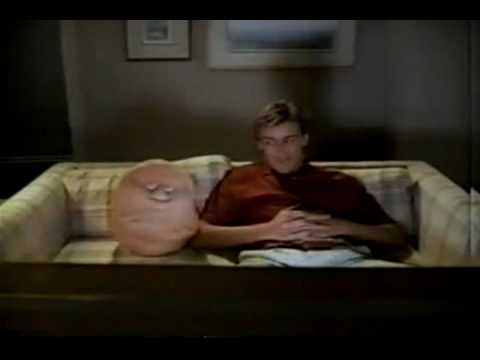 BETTER QUALITY VINTAGE 80'S COUCH POTATO DOLLS COMMERCIAL