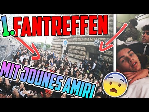 MEIN KRASSESTES ERLEBNIS!!!😱 | mit JOUNES AMIRI | Erstes Fantreffen | Marlon