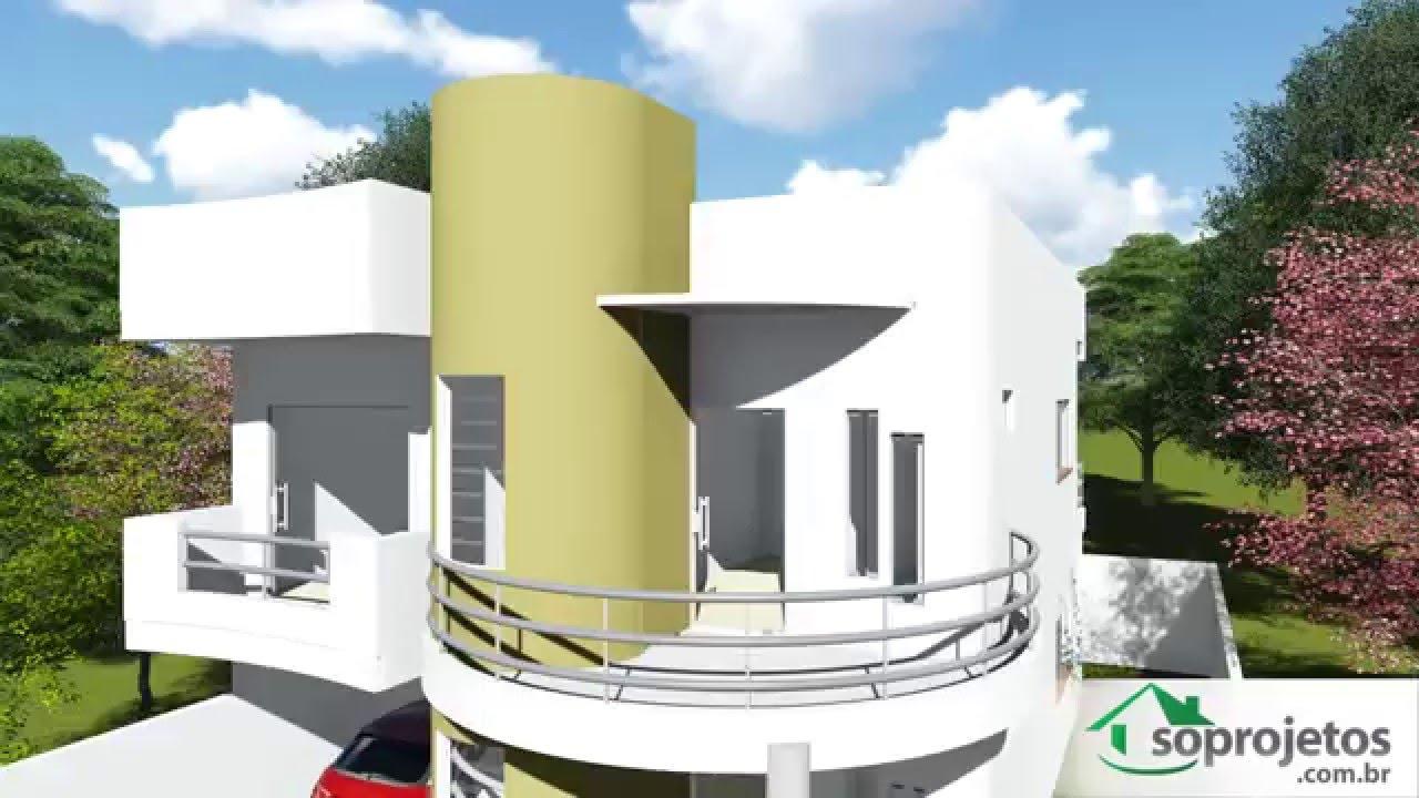 Modelos de casas vers o do projeto c d 93 com garagem for Modelos de casas procrear clasica