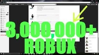 This is what 3 MILLION Robux Looks Like! - Linkmon99 ROBLOX