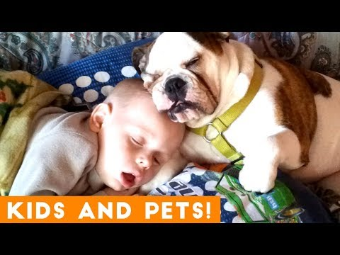 The Cutest Kids and Animals Compilation 2018 Pt. 1 | Funny Pet Videos