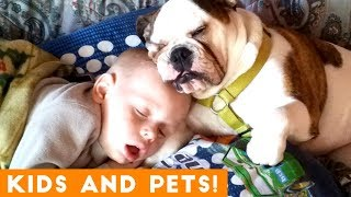 Download The Cutest Kids and Animals Compilation 2018 Pt. 1 | Funny Pet Videos Mp3 and Videos