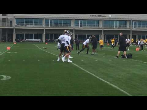 Joshua Dobbs, other Pittsburgh Steelers QBs throw at rookie minicamp
