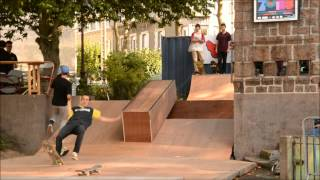 skatepark + contest - cité rap - St Brieuc 2013