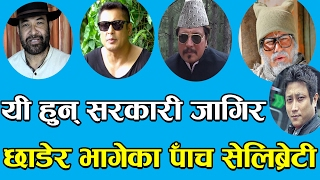 यी हुन् सरकारी जागिर छाडेर भागेका पाँच सेलिब्रेटी !! nepali celebrity