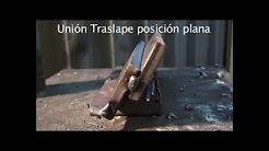 CURSO DE SOLDADURA MIG - proceso mig union traslape plano