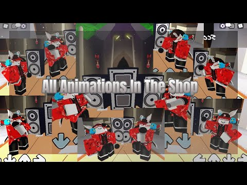 All Animations In Funky Friday - ROBLOX (OUTDATED)