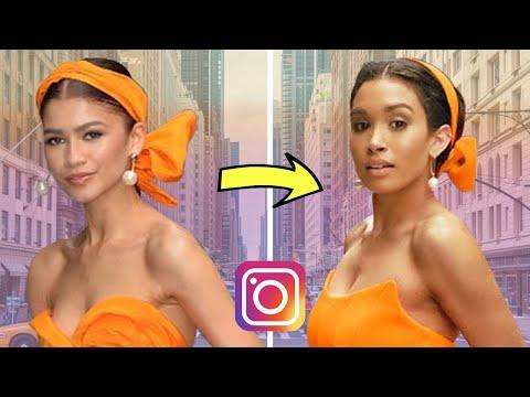 Recreating Celebrity Instagram Photos In NYC! Zendaya, Rihanna & Shay Mitchell (The Photo Shop)
