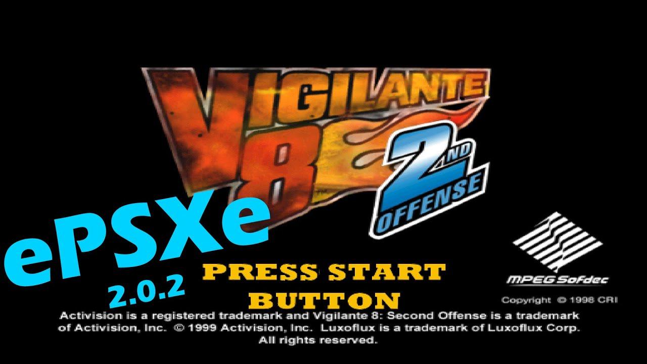 Epsxe 2 0 2 Emulator Vigilante 8 2nd Offense 1080p Youtube