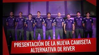 Presentación de la nueva camiseta alternativa de River 2018