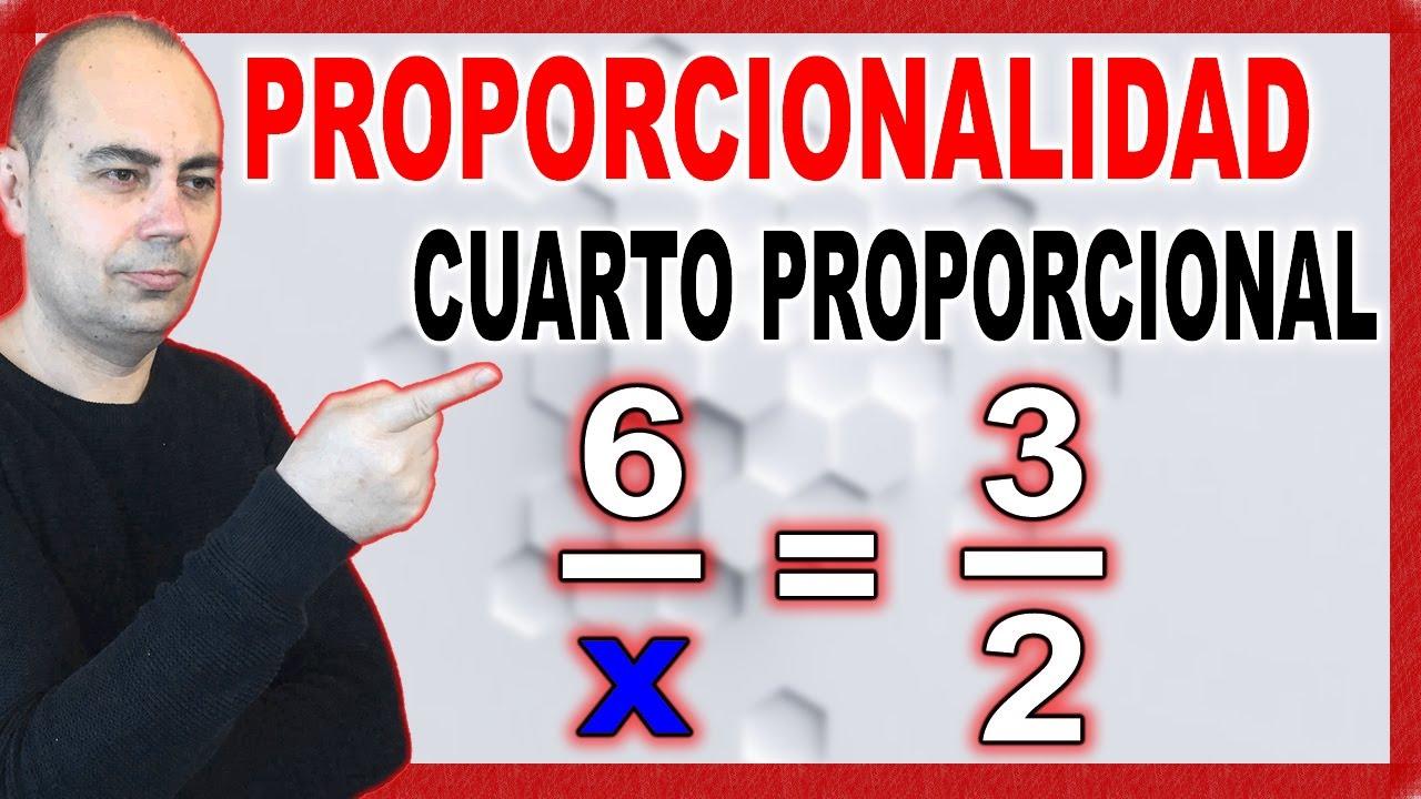 Cálculo del cuarto proporcional. - YouTube