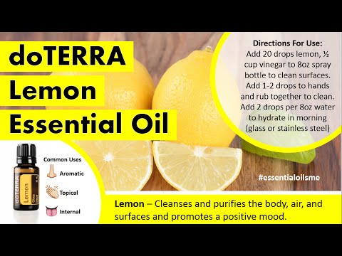 Rockin doTERRA Lemon Essential Oil Uses
