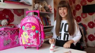 видео детский рюкзак