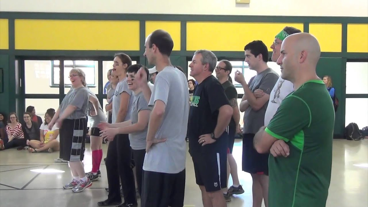 Faculty/Student Dodgeball Challenge