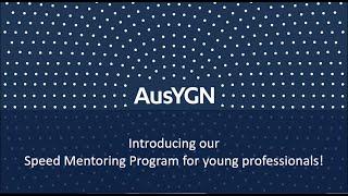 AusYGN Mentoring Webinar screenshot 2
