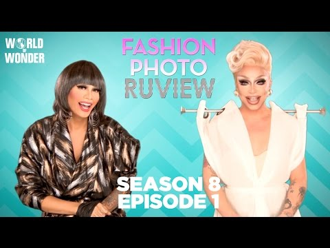 RuPaul's Drag Race Fashion Photo RuView With Raja And Raven Season 8 Episode 1 | Keeping It 100!