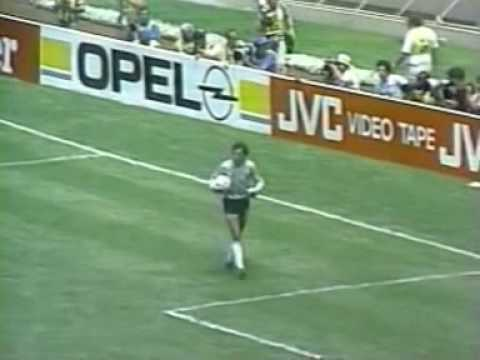 10/10 2nd half Argentina - England WC 1986 1/4 Final