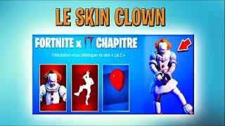 [FORTNITE SAISON X] Get the CLOWN CA SKIN!