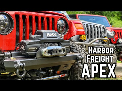 Is The Harbor Freight APEX Winch Any Good??  Lets find out!