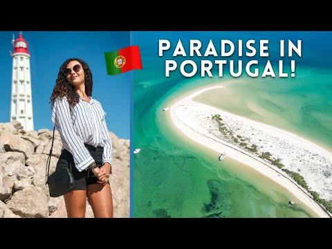 EPIC ISLANDS OF THE ALGARVE 🇵🇹 ILHA DO FAROL & ILHA DA CULATRA (PORTUGAL)