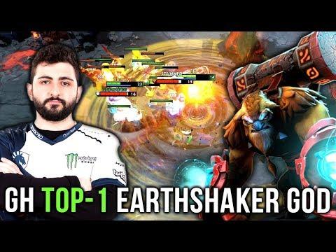 GH-GOD TOP 1 World Best Earthshaker - EPIC Gameplay Compilation - Dota 2 thumbnail