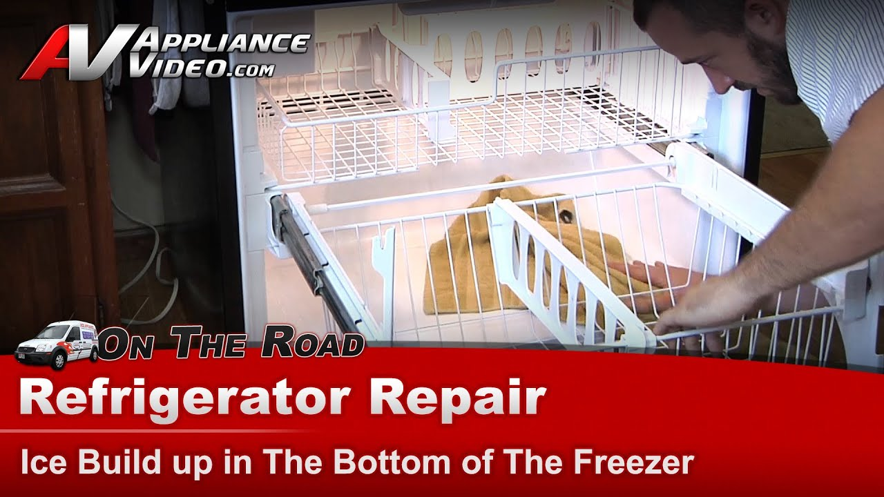 Refrigerator Repair Ice Build Up In The Freezer Whirlpool Maytag Kitchenaid Kenmore Gb2fhdxws07 You